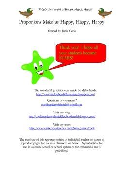 Proportions Make us Happy Happy Happy
