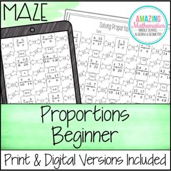 Proportions Maze - Beginner