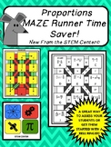 Proportions Maze Runner Game