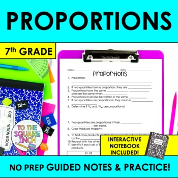 Proportions Notes