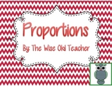 Proportions PowerPoint Presentation 7.RP.A.2 & 7.RP.A.2a