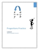 Proportions Practice Worksheets