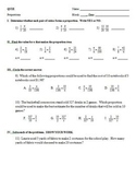 Distance Learning - Proportions Quiz