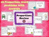 Proportions Review Activity
