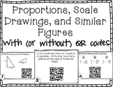 Proportions, Scale Drawings and Similar Figures with (or w