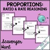 Proportions Activity - Scavenger Hunt