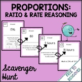 Proportions Activity - Scavenger Hunt