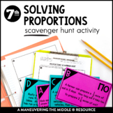 Solving Proportions Real World Scavenger Hunt