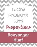 Proportions Scavenger Hunt