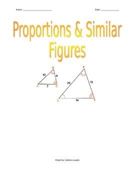 Proportions & Similar Figures
