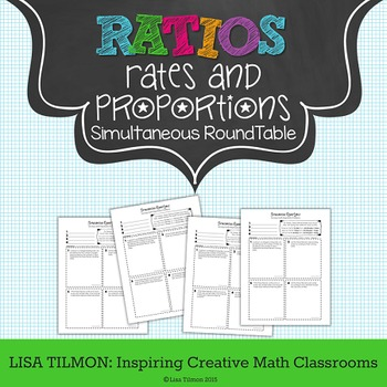 Proportions: Solving Multi-Step Ratio Problems Simultaneous RoundTable