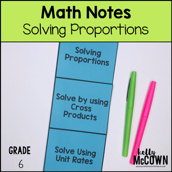 Proportions Solving Notes