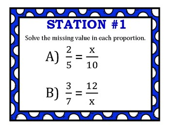 Proportions Stations