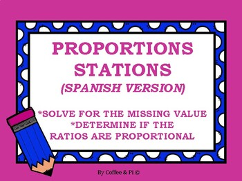 Proportions Stations (Spanish Version)