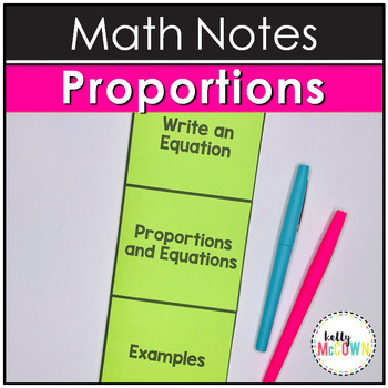 Proportions and Equations Notes