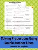Proportions and Equivalent Ratios Using Double Number Lines