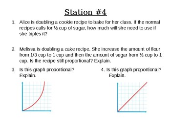 Proportions and Percent Station Review