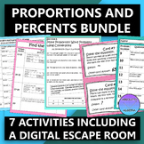 Proportions and Percents Bundle