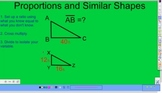 Proportions and Similar Shapes Video
