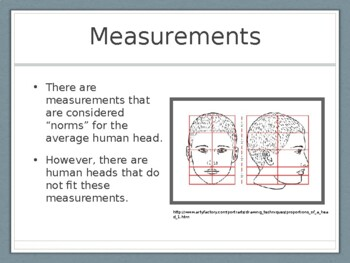 Proportions of the Head Presentation