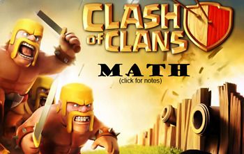 Proportions with Clash of Clans!