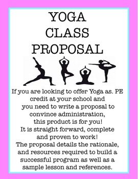 Proposal For Yoga Class for PE Credit