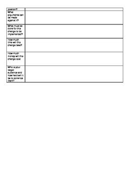 Portfolio: Proposal for Persuasive Portfolio