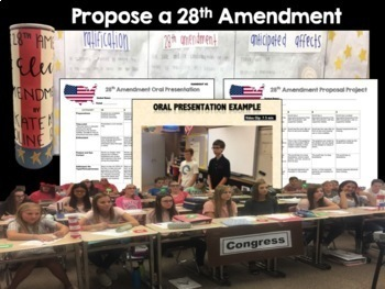 Proposing a 28th Amendment to the U.S. Constitution