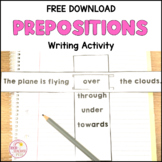 Prepositional Language Writing Tasks Geography mapping gro