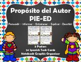 Proposito del Autor - Author's Purpose - Spanish - Digital