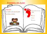 Proposito del Autor /Authors Purpose