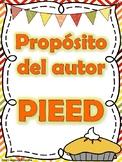 Proposito del autor - Persuadir, Informar, Entretener, Explicar, Describir