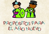 Propósitos de Año Nuevo 2019 / New Year Resolutions 2019 in Spanish + Banner