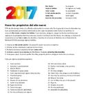 Propósitos del año nuevo 2017