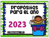 Propósitos para el año 2019 -  Actividades en español