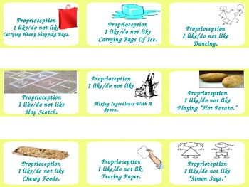Proprioception Under the Sea Autism Sensory Diet Game Board/Assess Special Needs