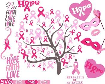 Props Breast Cancer awareness SVG clip art swirl Cutting r