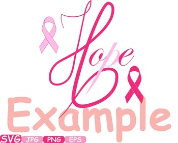 Props Breast Cancer awareness SVG clip art swirl ribbon day angel wings  -200S