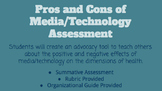Pros and Cons of Media/Technology Assessments