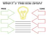 Pros vs Cons Idea Worksheet