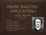 """Prose Analysis Application: Poe and """"The Tell-Tale Heart"""""""