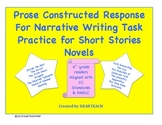 Prose Constructed Response For Narrative Writing Task Prom