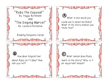 Prose Constructed Response (PCR) Task Cards, 3rd Grade StoryTown, Theme 1