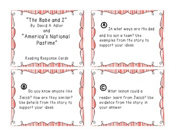 Prose Constructed Response (PCR) Task Cards, 3rd Grade StoryTown, Theme 2