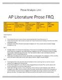 Prose FRQ: AP Lit 2002
