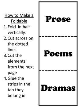 Prose, Poems, and Dramas