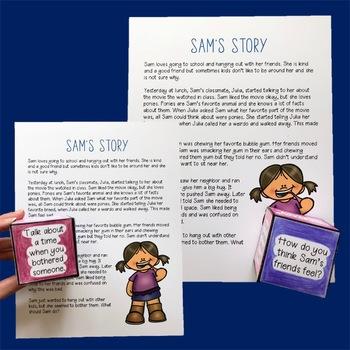 Prosocial Behaviors and Social Skills Stories