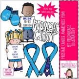 Prostate Cancer Awareness clip art - Mini - by Melonheadz Clipart