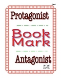 Protagonist Antagonist Bookmark