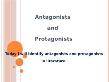 Protagonist Antagonist PowerPoint